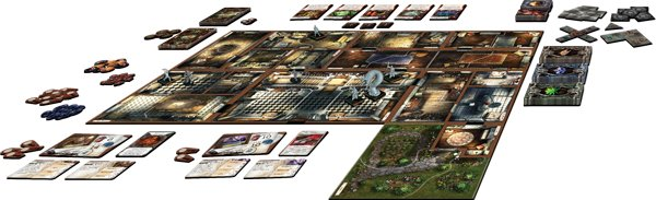 game layout mansions of madness 1 Mansions of Madness review: From Rlyeh With Love