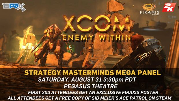 pax2 2 New gameplay of XCOM: Enemy Within and Borderlands 2 DLC to be shown at PAX