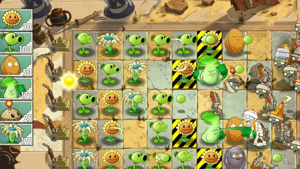 pvz2 1 Plants vs. Zombies 2: Its About Time   Information Extravaganza!