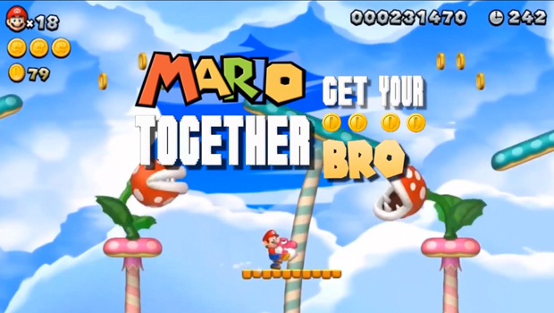 "Mario The best song you'll hear today is about a plumber – ""HEY MARIO"""