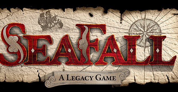 SeaFall logo preliminary sized e1380081478448 Next Legacy board game coming, published by Plaid Hat