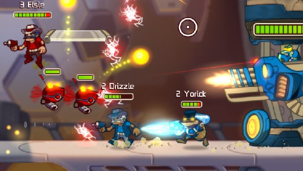 awslead 1 Awesomenauts goes free for a week, available for 50% off