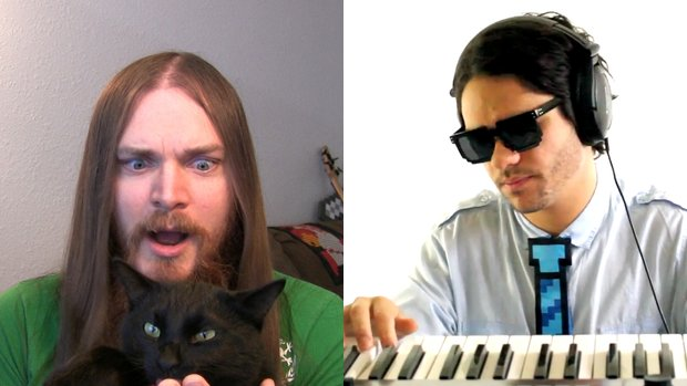 mcgroove and joe 1 Videogame influenced Musicians Take Over YouTube