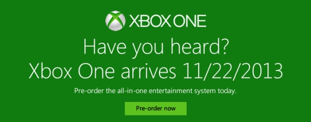 nov22 Xbox One lands November 22, one week after the PS4.