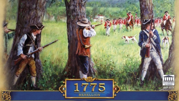 1775 Rebellion game box cover