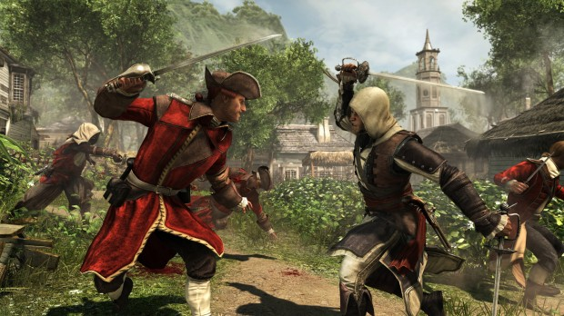 ACGA SP 110 Kingston Combat 620x348 Drink up me hearties, yo ho!  Assassins Creed IV Black Flag review