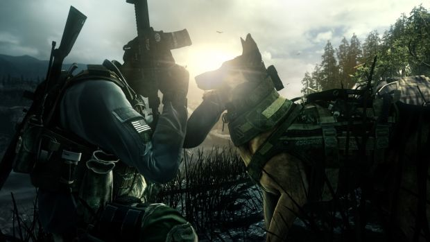 COD Ghosts Good Boy Call of Duty: Ghosts trailer shows off Squads feature