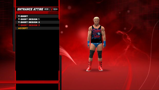 Dolph Superstart Threads 2 New Creation Suite revealed for WWE 2K14