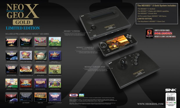PROMOTION 620x374 Handheld collectors item?   SNK orders cease and desist on Neo Geo X one year after launch