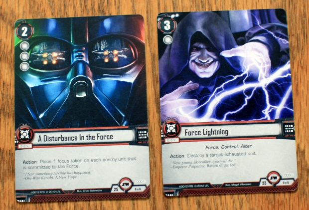 SWLCG combo Dont let the Wookiee win   Star Wars: The Card Game (Core Set)