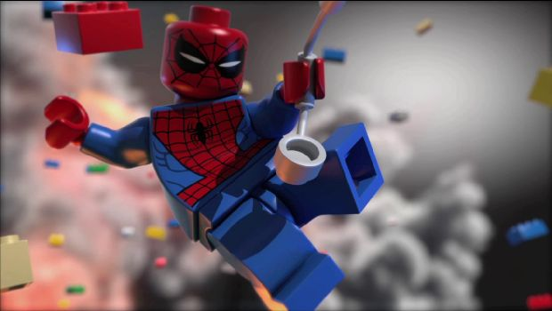 Spidey 620x350 LEGO Marvel Super Heroes sceenshots and exciting news