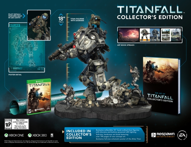 TitanfallCE Titanfall gets a release date, collectors edition