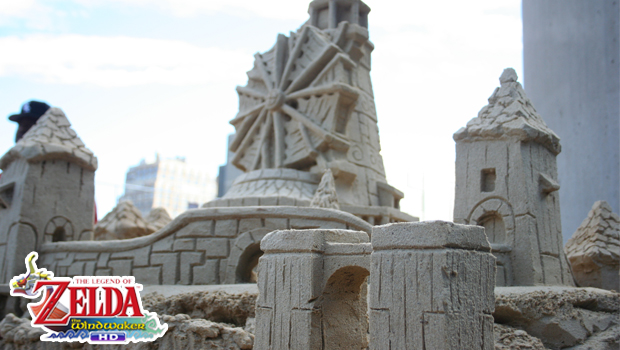 ZELDASANDCASTLE Nintendo dominates at NYCC