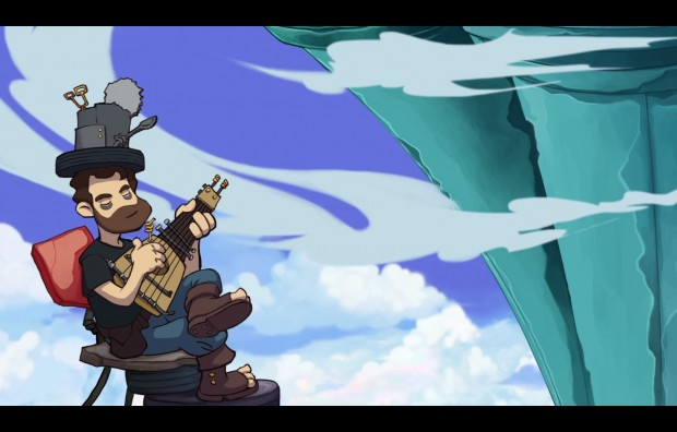 german dude 620x396 All hail the German kings of adventure gaming!    Goodbye Deponia review