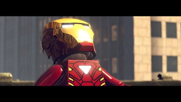 iron man looks up You wont like me when Im angry...    LEGO Marvel Super Heroes