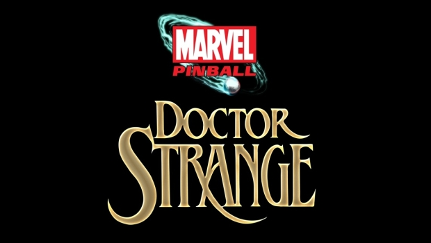 logo Doctor Strange becomes a Pinball Wizard this December