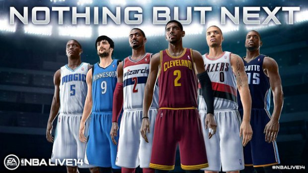 nothingbutnext 1 NBA Live 14 reveals their partnering athletes