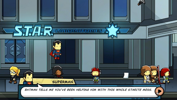 scribblenauts Not the hero we deserve    Scribblenauts Unmasked review
