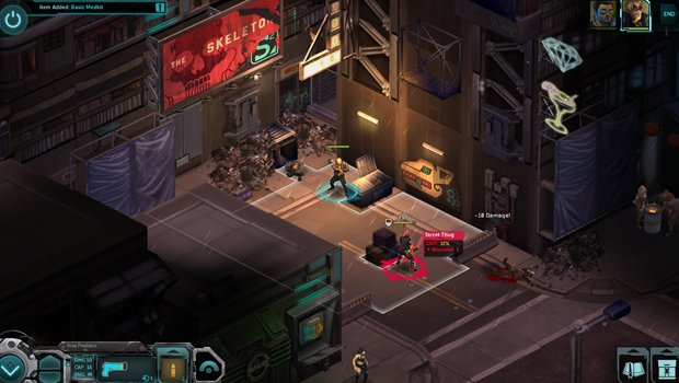 shadleadwar 1 Orks, guns and level restarts   Shadowrun Returns (iOS) review