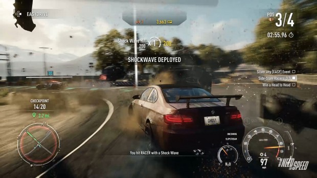 PS4 Shockwave deploy 620x348 Race against time, and everyone else    Need for Speed Rivals