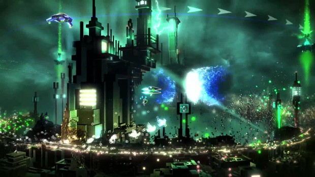 Resogun e1384804415924 Sharing is caring: quick takes from the first weekend of the PlayStation 4