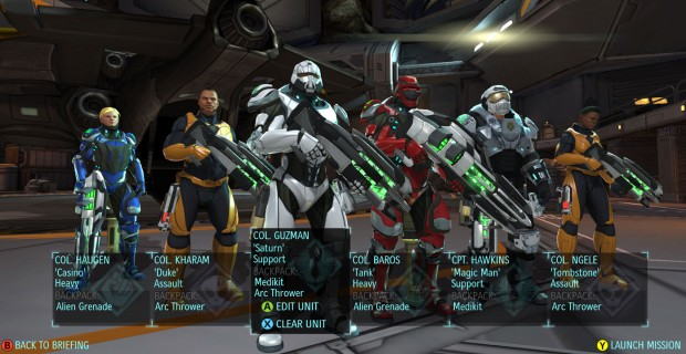 XCOM screen02 620x320 Genetically modified, flamethrower wielding cyborgs? Yes please – XCOM: Enemy Within releases today