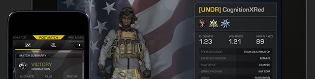 secondscreen Post Modern Warfare: Call of Duty: Ghosts