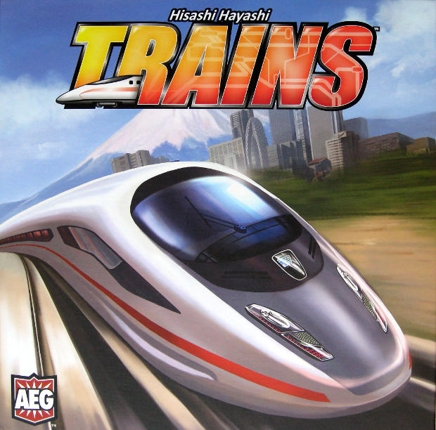 Trains - Full Cover