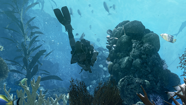underwater Post Modern Warfare: Call of Duty: Ghosts
