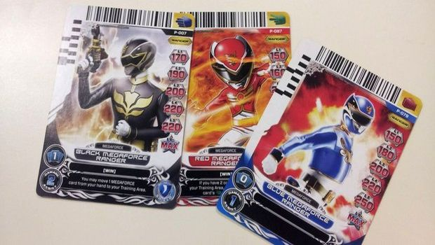 powerrangerscards 25367 resize.nphd  About as mighty as you'd expect   Power Rangers Megaforce
