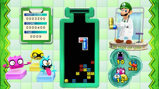 LuigiGameplay 620x348 Luigis making house calls   Dr. Luigi review