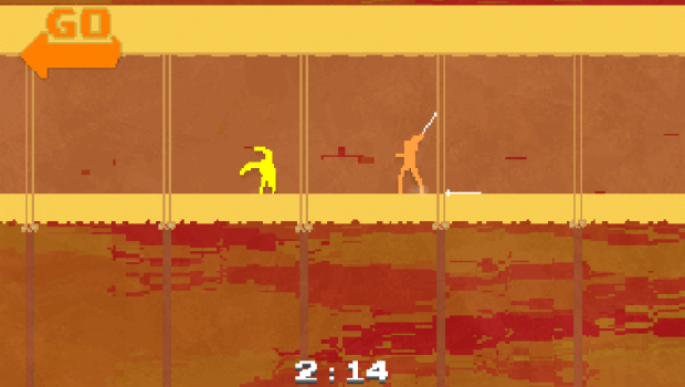 screen3 e1390022371555 Brave fencer    Nidhogg review