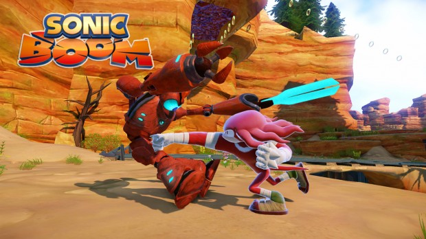 Knuckles 620x348 Sonic gets a facelift   Sega announces new look, new game, and a new show for its gaming icon