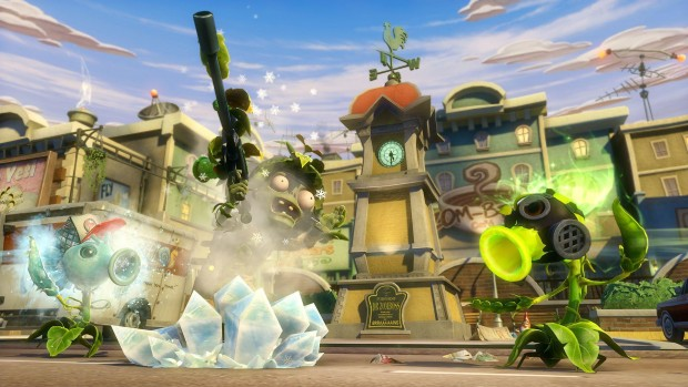 Plants Vs Zombies Garden Warfare 001 e1393296463962 Dead and loving it    Plants vs. Zombies: Garden Warfare review