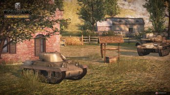 WoT Xbox 360 Edition Screens Combat Image 01 348x195 World of Tanks: Xbox 360 Edition rolls out today along with a new trailer and screenshots