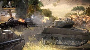 WoT Xbox 360 Edition Screens Combat Image 02 348x195 World of Tanks: Xbox 360 Edition rolls out today along with a new trailer and screenshots