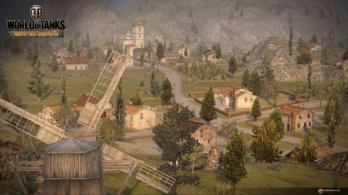 WoT Xbox 360 Edition Screens Maps Mines Image 06 348x195 World of Tanks: Xbox 360 Edition rolls out today along with a new trailer and screenshots