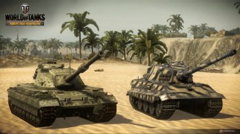WoT Xbox 360 Edition Screens Tanks Britain Image 08 348x195 World of Tanks: Xbox 360 Edition rolls out today along with a new trailer and screenshots