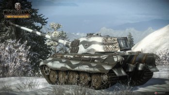 WoT Xbox 360 Edition Screens Tanks Germany Tiger 2 Image 09 348x195 World of Tanks: Xbox 360 Edition rolls out today along with a new trailer and screenshots
