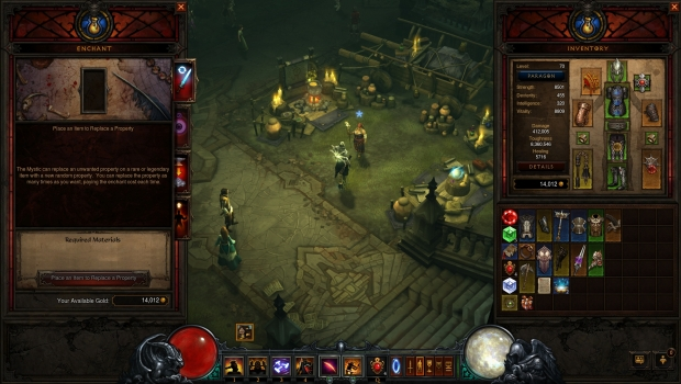 Mystic Enchant Transmog LH 007 Diablo III: Reaper of Souls   Dungeons, Demons, and Loot done right