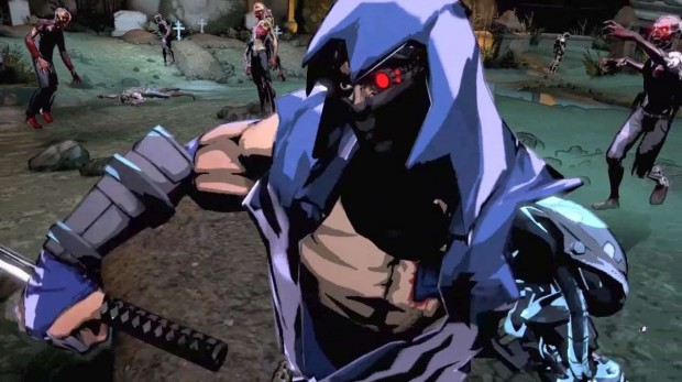 YaibaFight 620x347 The horror   Yaiba: Ninja Gaiden Z review