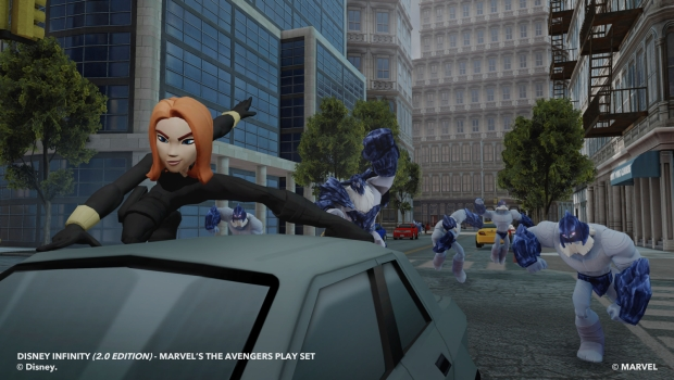 Avenger BlackWidow 1 X3 In Depth with Disney Infinity: Marvel Super Heroes