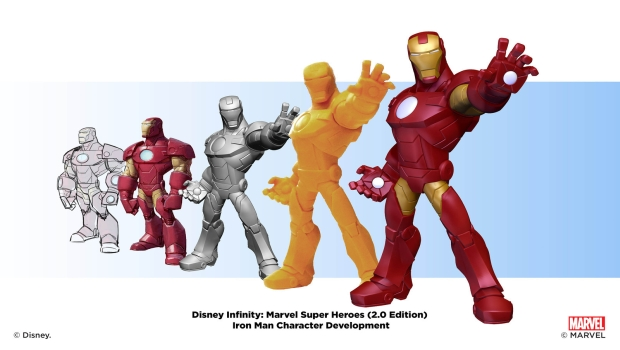 Iron Man Character Development Montages X3 In Depth with Disney Infinity: Marvel Super Heroes