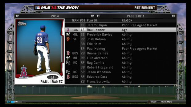 MLB14 4 Closing day    MLB 14: The Show review
