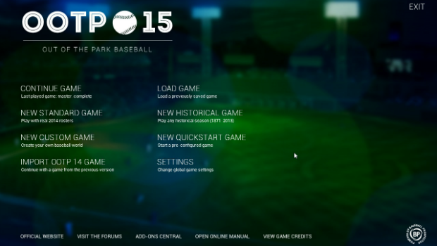 OOTP151 Truly better baseball    Out of the Park Baseball 15 review
