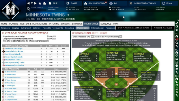 OOTP154 Truly better baseball    Out of the Park Baseball 15 review