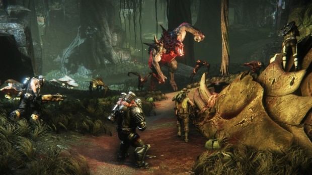 evolves 620x348 The Goliath is hungry    Hands On impressions of Evolve