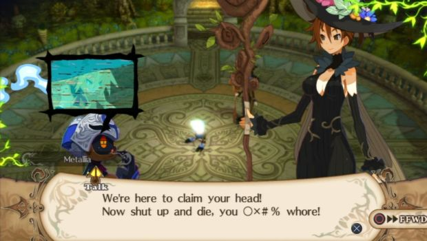 hundred knight dialogue resize Adorable villainy  The Witch and the Hundred Knight review