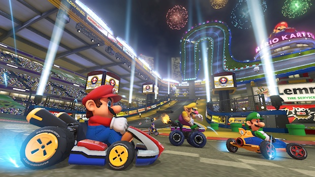 18 Course MarioKartStadium Mario Kart 8 review