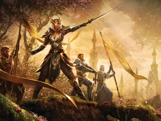 ElderScrolls hires5 533x400 The Elder Scrolls Online: The Poster Collection   a beatiful war of nations